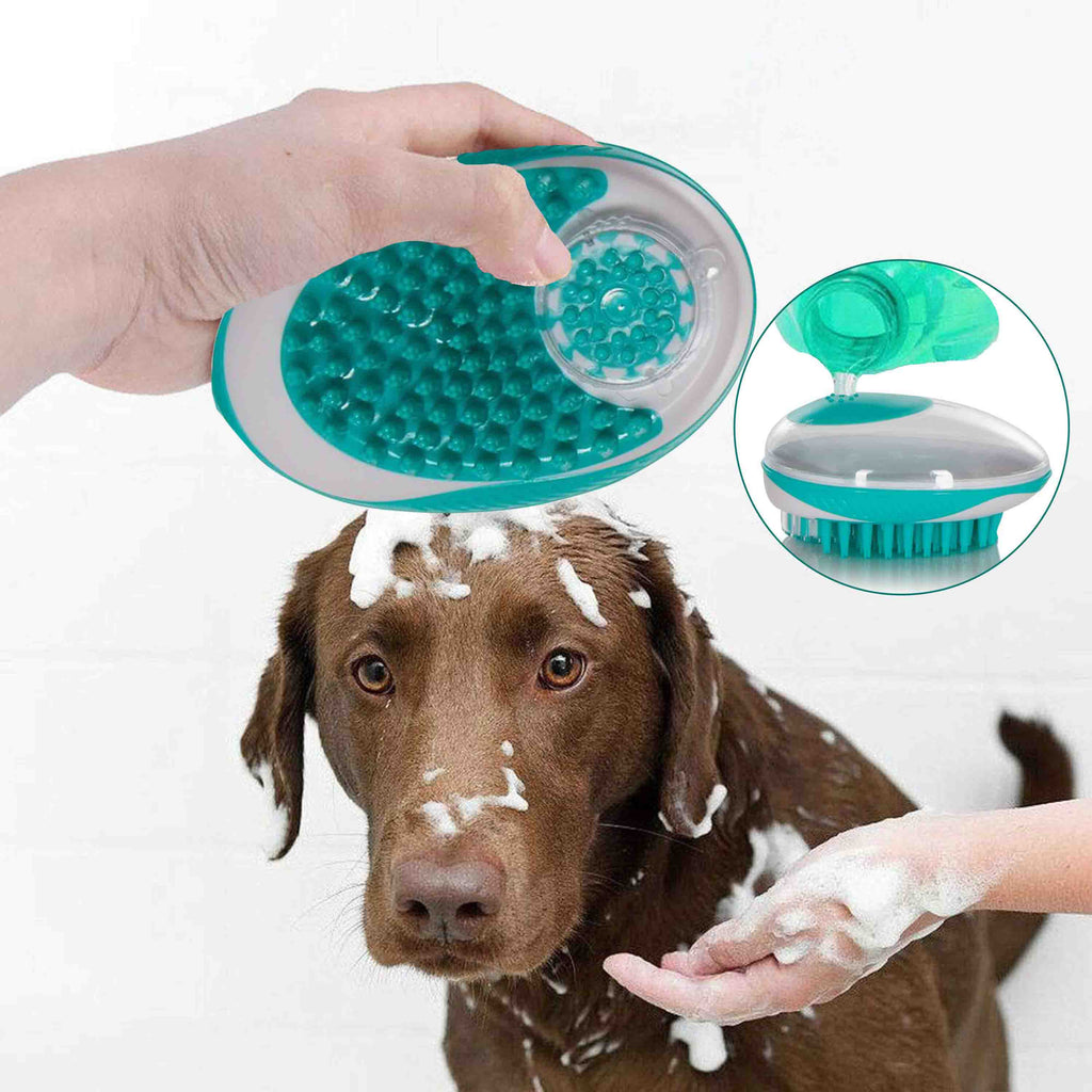 Shampoo Dispensing Grooming Brush-Daily Steals