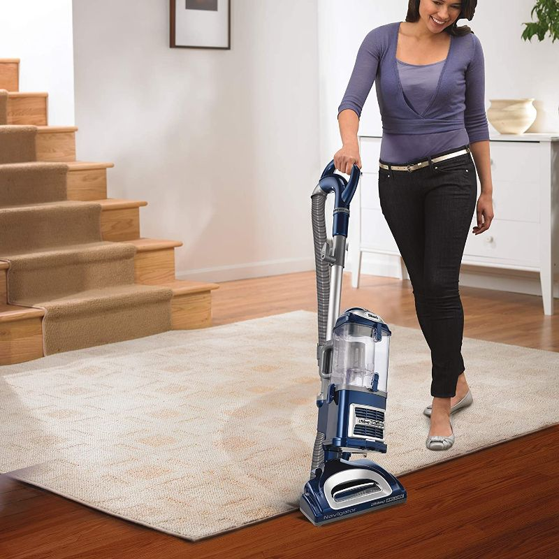 Shark Navigator Lift-Away Deluxe Upright Vacuum - Blue