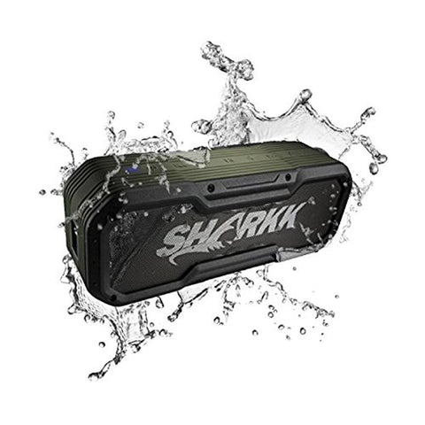 Daily Steals-Sharkk Commando Wireless Bluetooth Speaker IP65 Waterproof 24 Hour Battery-Speakers-