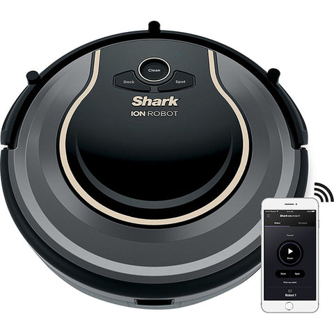 Daily Steals-Shark ION ROBOT 750 Vacuum with Wi-Fi Connectivity + Voice Control (RV750)-Digital Products-