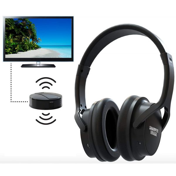 Sharper Image Own Zone Wireless TV Headphones for Private Listening-Daily Steals