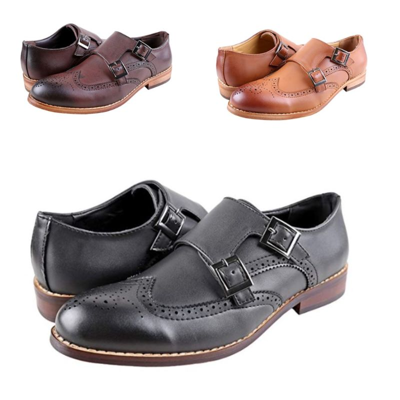Urban Fox Everette Wingtip Men's Dress Shoe-Daily Steals