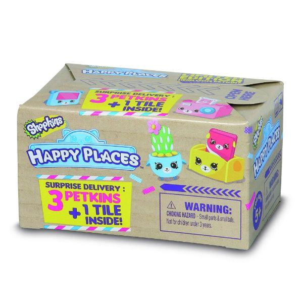 Daily Steals-Shopkins Happy Places S1 Surprise Delivery - 3 Pack-Hobby and Toys-