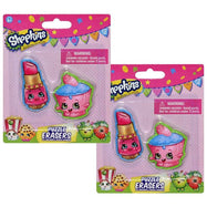 Shopkins School Supplies - Stationary and Eraser-Shopkins 2 Pack Puzzle Eraser-Daily Steals