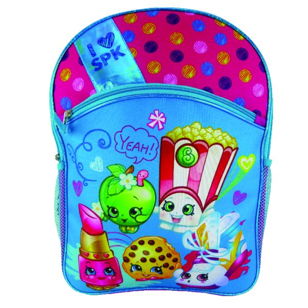 "Boys and Girls Assorted Kids Backpack-Shopkins Selfies 16""-Daily Steals"