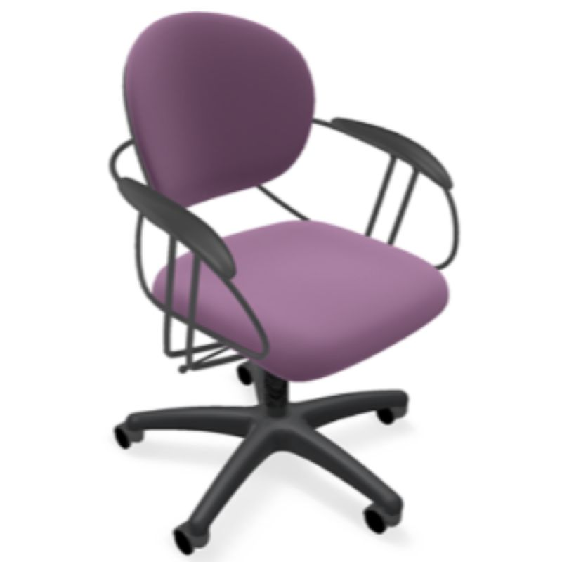 Steelcase Uno Multipurpose Chair - Mid Back-Lavender-Daily Steals