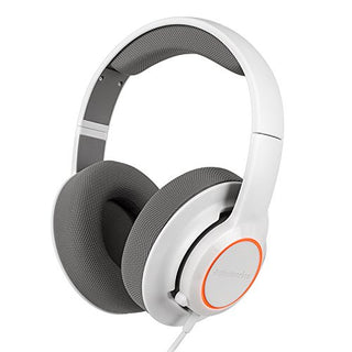 SteelSeries Siberia RAW Prism Lightweight Gaming Headset for PC, MAC, PS4 - White