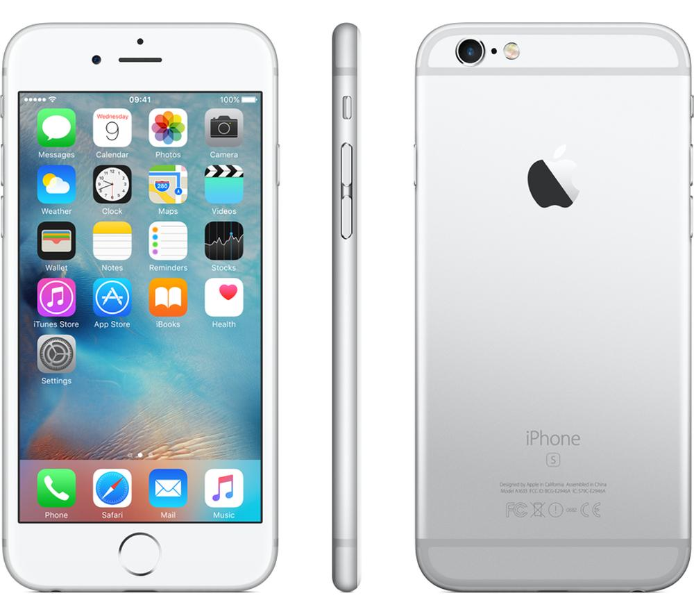 Apple iPhone 6s Unlocked GSM 4G LTE Smartphone - 16GB (4 Colors)-SILVER-Daily Steals
