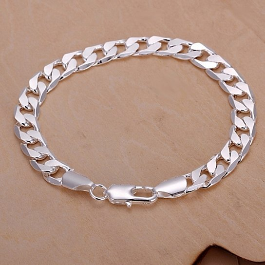 Daily Steals-Jewelry Gift - 12 Styles-Jewelry-Silvertone Elegant Classic American Bracelet-