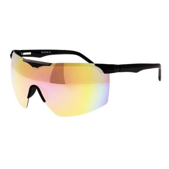 Daily Steals-Sixty One Shore Polarized Sunglasses-Sunglasses-Black / Red-Rainbow-