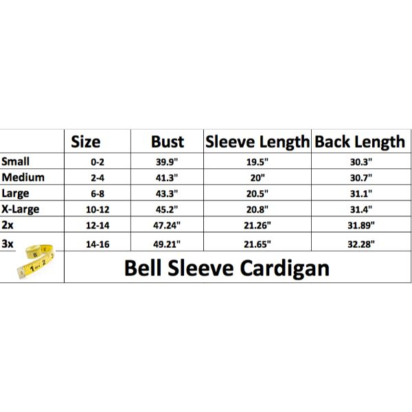 update alt-text with template Daily Steals-Stylish & Comfortable Bell Sleeve Cardigan-Women's Apparel-Burgundy-Large-