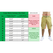 Men's Distressed Vintage Belted Cargo Utility Shorts - 2 Pack-Daily Steals