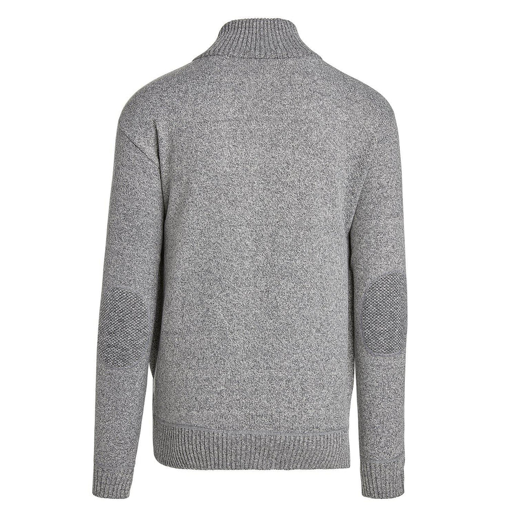 Alta Men's Casual Long Sleeve Full-Zip Mock Neck Sweater Jacket-Daily Steals