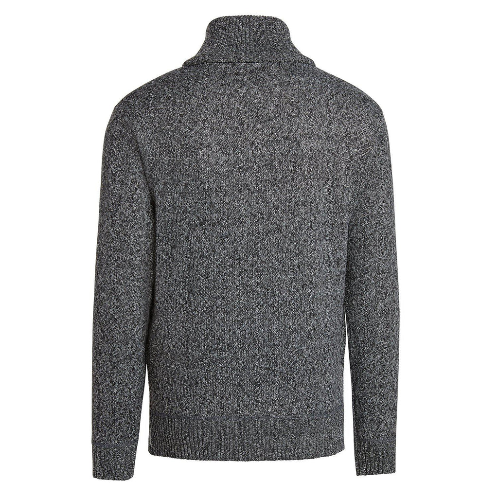 Alta Men's Casual Long Sleeve (Half-Zip / Full-Zip) Mock Neck Sweater Jacket-Daily Steals