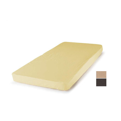 Daily Steals-Baby Bassinet Mattress Pad Cover - Carters Easy Fit 100% Cotton Jersey Sheets-Home and Office Essentials-Brown-