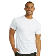Spak Men's 100% Cotton White T-Shirts - 3 Pack-Small-Daily Steals