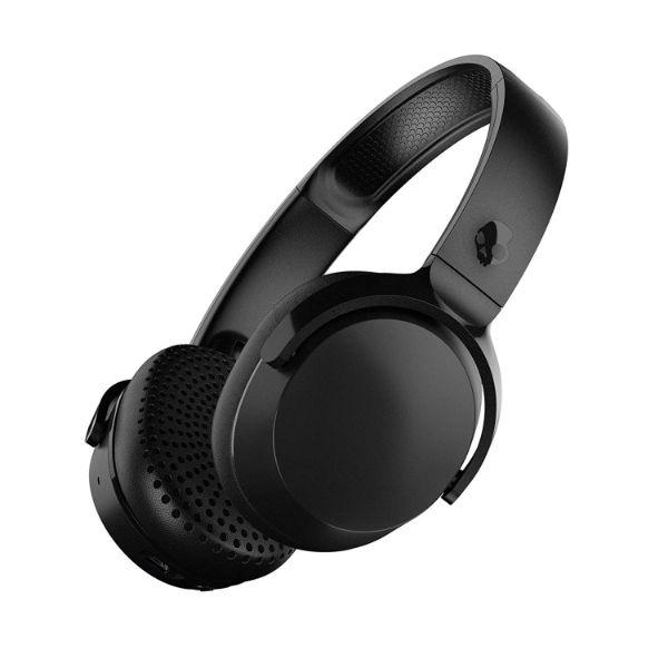 Daily Steals-Skullcandy Riff Wireless On-Ear Headphones with Microphone, 12-Hour Battery Life, Foldable, Black-Headphones-