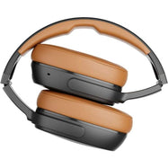 Skullcandy - Crusher 360 Wireless Over-The-Ear Headphones - Black/Tan-Daily Steals