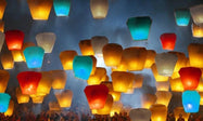 Sky Lanterns (20-Pack)-Daily Steals