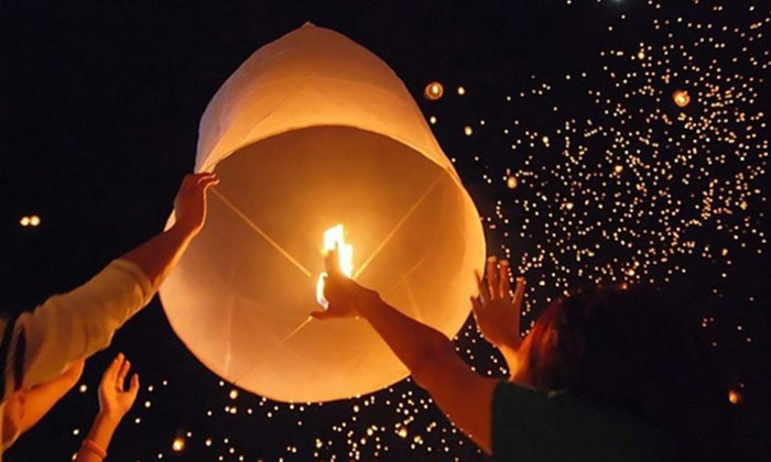 Sky Lanterns (20-Pack) - vols quotidiens