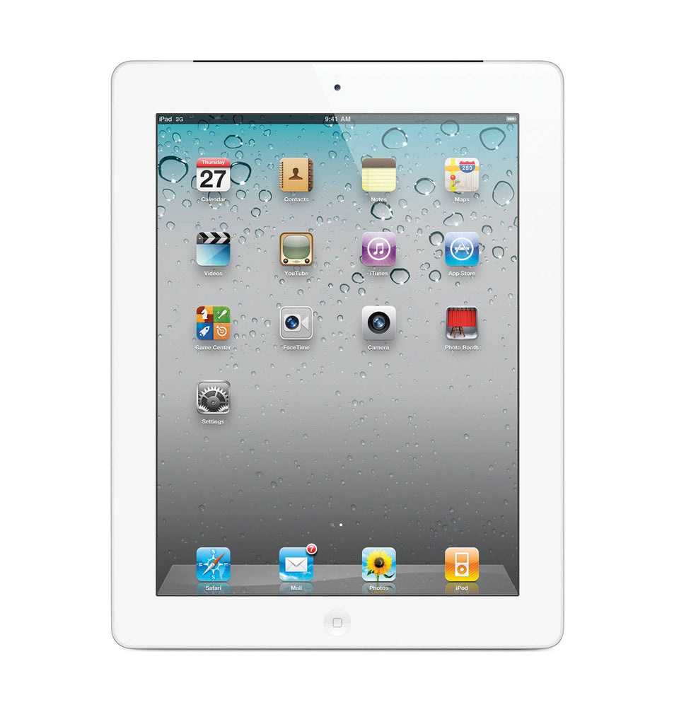 Apple iPad 2 Tablet - Wi-Fi + Optional Cellular (32 and 64GB Available)-White-32GB-Wi-Fi-Daily Steals