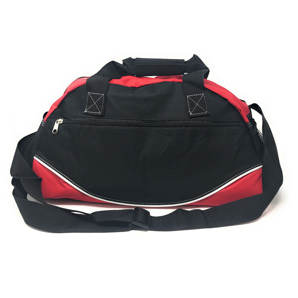 Casaba 17-Inch Travel Sports Duffle Gym Bag-Red/Black-Daily Steals