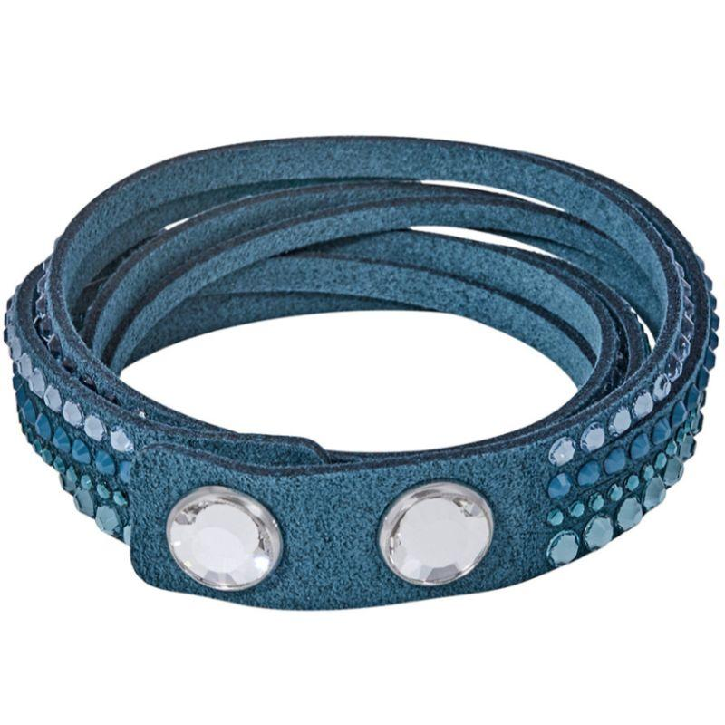 Slake Blue Alcantara Bracelet-Daily Steals