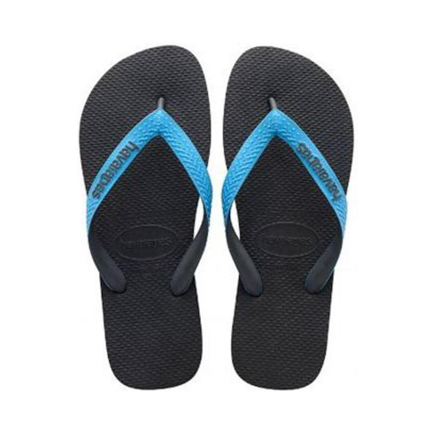 Havaianas H. Top Mix Sandals for Men and Women-Blue-11 Womens/ 10 Mens-Daily Steals