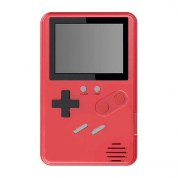 Slim Retro Gaming Device with 500 Games Built-In-Red-