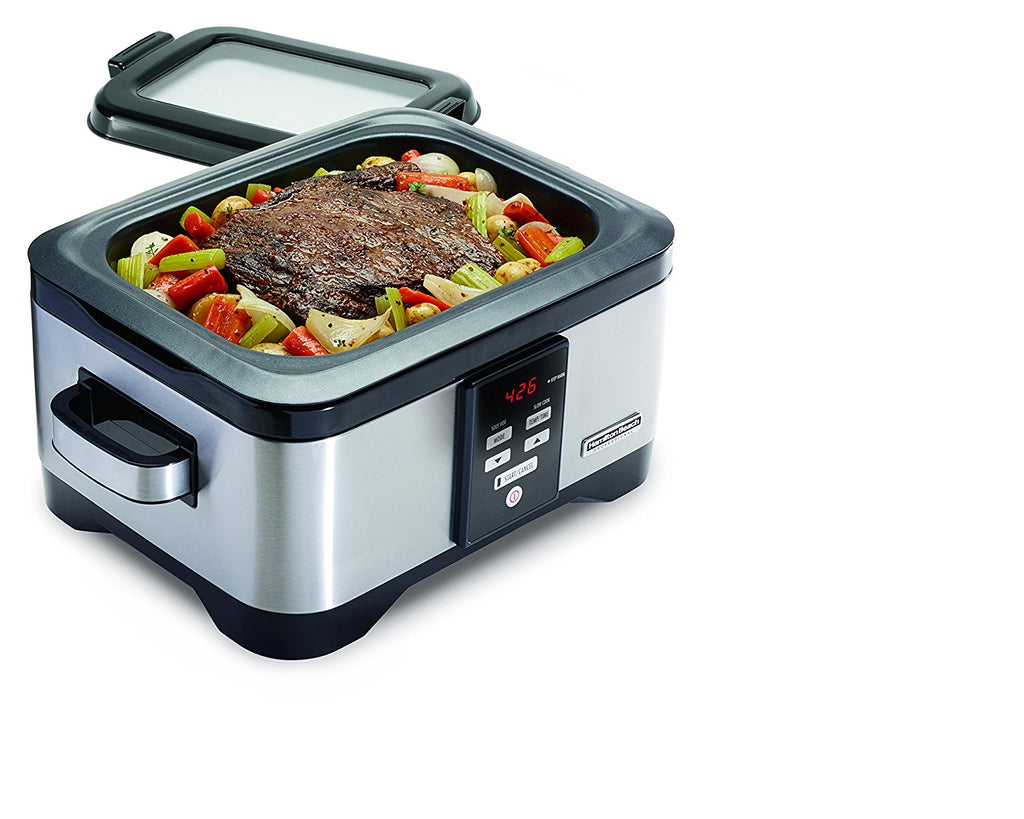 Hamilton Beach Professional Sous Vide and 6 Quart Slow Cooker-Daily Steals