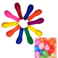 Small Latex Colorful Water Balloons - 500 Pack-