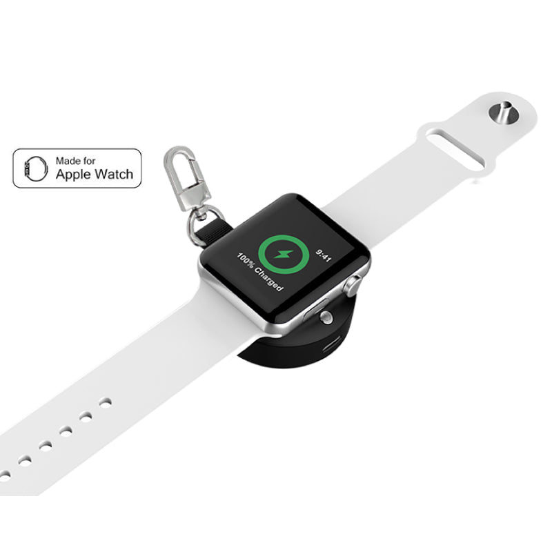 Daily Steals-Portable Apple Watch Keychain Charger-Other-Black-