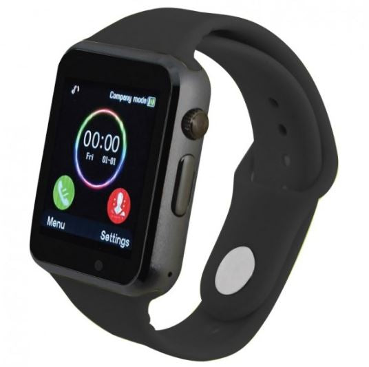 Bluetooth Android Internet Music Smartwatch - Assorted Colors-Black-Daily Steals