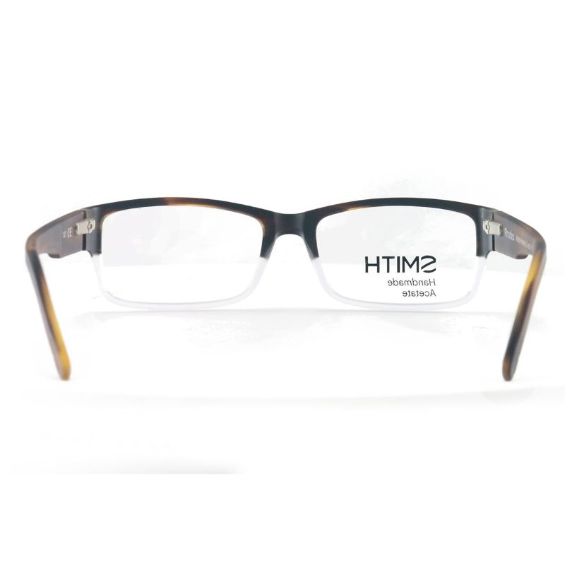 Smith Men's Eyeglasses Rhodes HQO Matte Havana Crystal 54 17 140 Full Rim