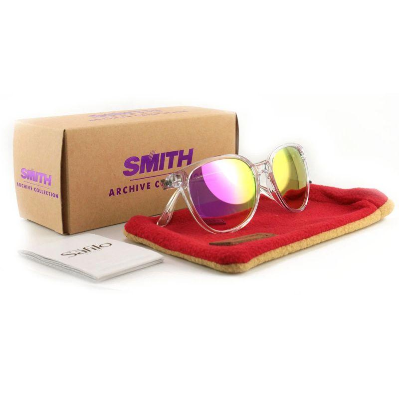Smith Cheetah 900/VQ Clear 54 19 140 Mirror Women's Sunglasses-