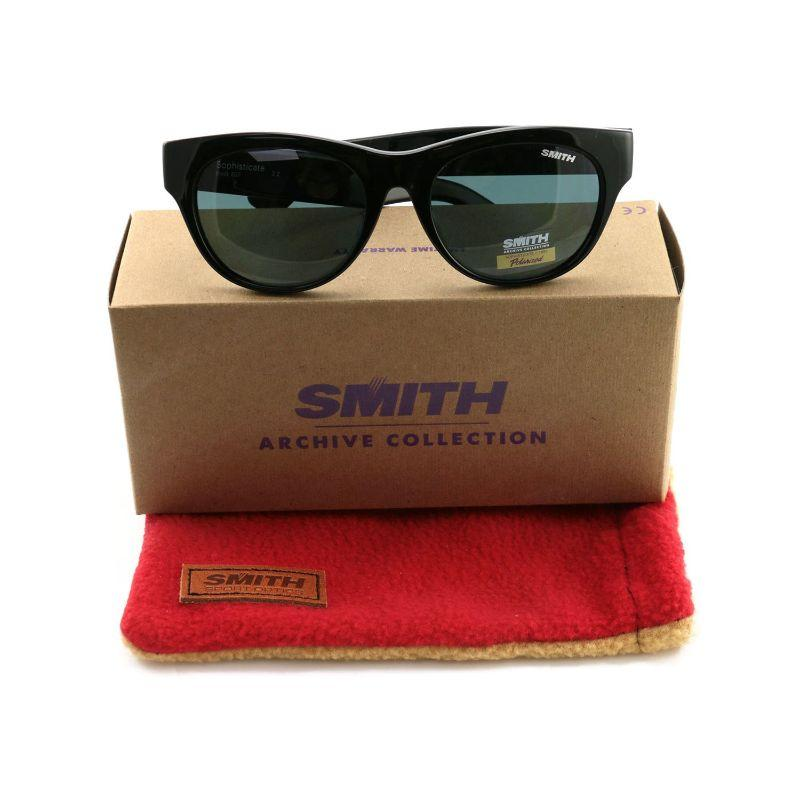 Smith Sophisticate 807/6N Black 54 19 140 Polarized Women's Sunglasses-