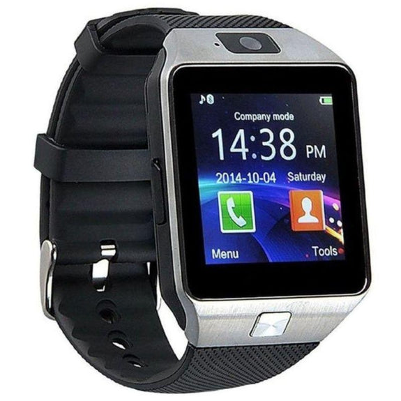 Bluetooth Smartwatch with Camera and Pedometer-Black-Daily Steals