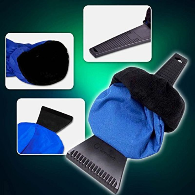 Waterproof Ice Scraper Vehicle Mitt - 2 Pack-Daily Steals