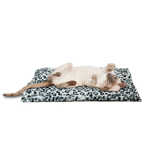 FurHaven ThermaNAP Self Warming Heating Pet Mat-Snow Leopard-Daily Steals
