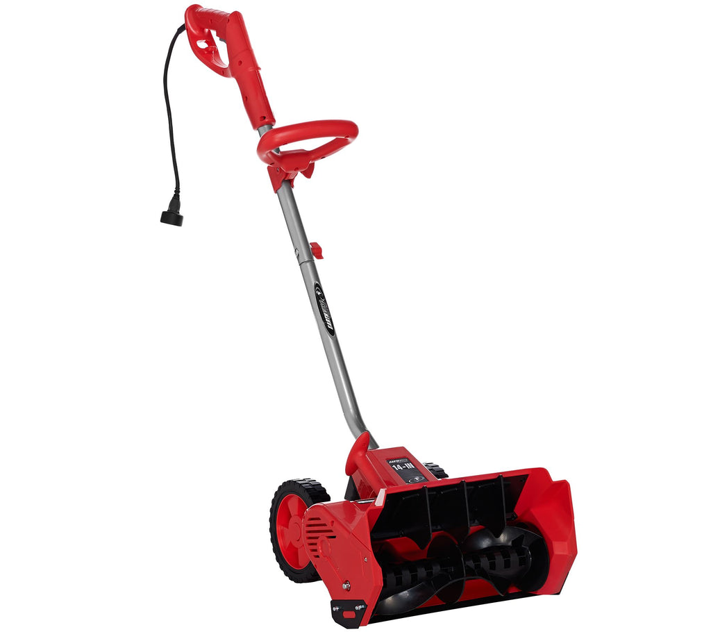 "Earthwise Snow Thrower Snow Shovel 12 AMP Corded Electric 14"" - Assorted Colors-Red-Daily Steals"