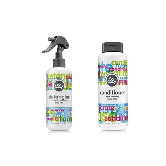 So Cozy Conditioner And Detangler Set - 2 Piece-Daily Steals
