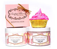 Daily Steals-Soapy Bliss Bath Bundle - 4 Piece Set-Health and Beauty-