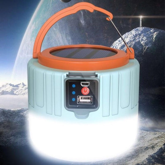 Solar Powered 1200 Lumen Lantern-