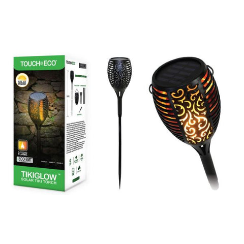 Daily Steals-Solar TIKIGLOW Flickering Torch Light - 1, 2, or 4 Pack-Outdoors and Tactical-4-Pack-