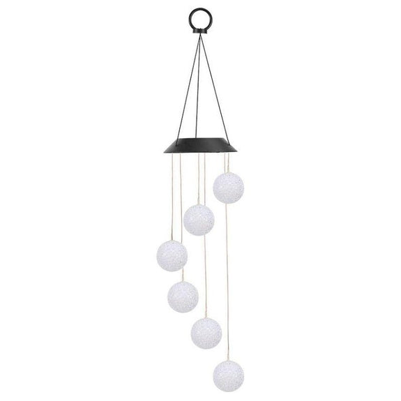 SolarEK Ball Color-Changing LED Solar Mobile Wind Chime-