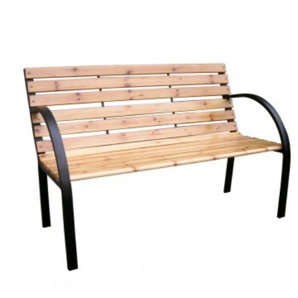 Daily Steals-Solid Wood Outdoor Patio Bench-Furniture-