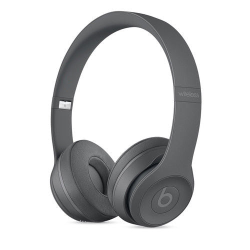 Daily Steals-Beats by Dr. Dre Beats Solo3 Wireless Bluetooth On-Ear Headphones-Headphones-Asphalt Gray-