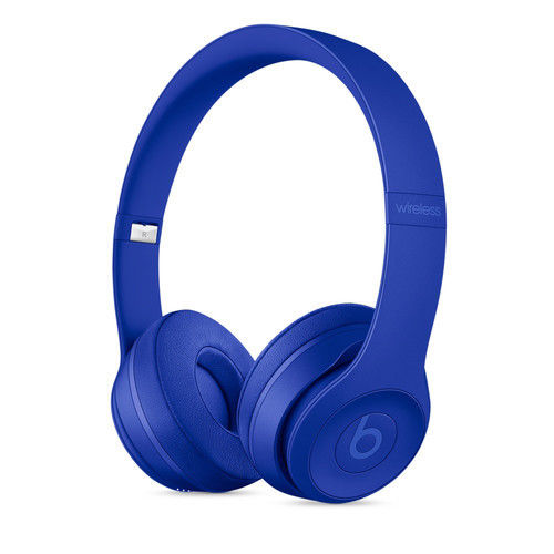 Daily Steals-Beats by Dr. Dre Beats Solo3 Wireless Bluetooth On-Ear Headphones-Headphones-Break Blue-