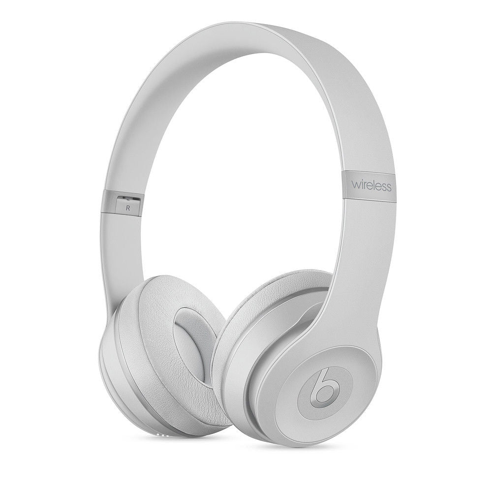 Daily Steals-Beats by Dr. Dre Beats Solo3 Wireless Bluetooth On-Ear Headphones-Headphones-Matte Silver-
