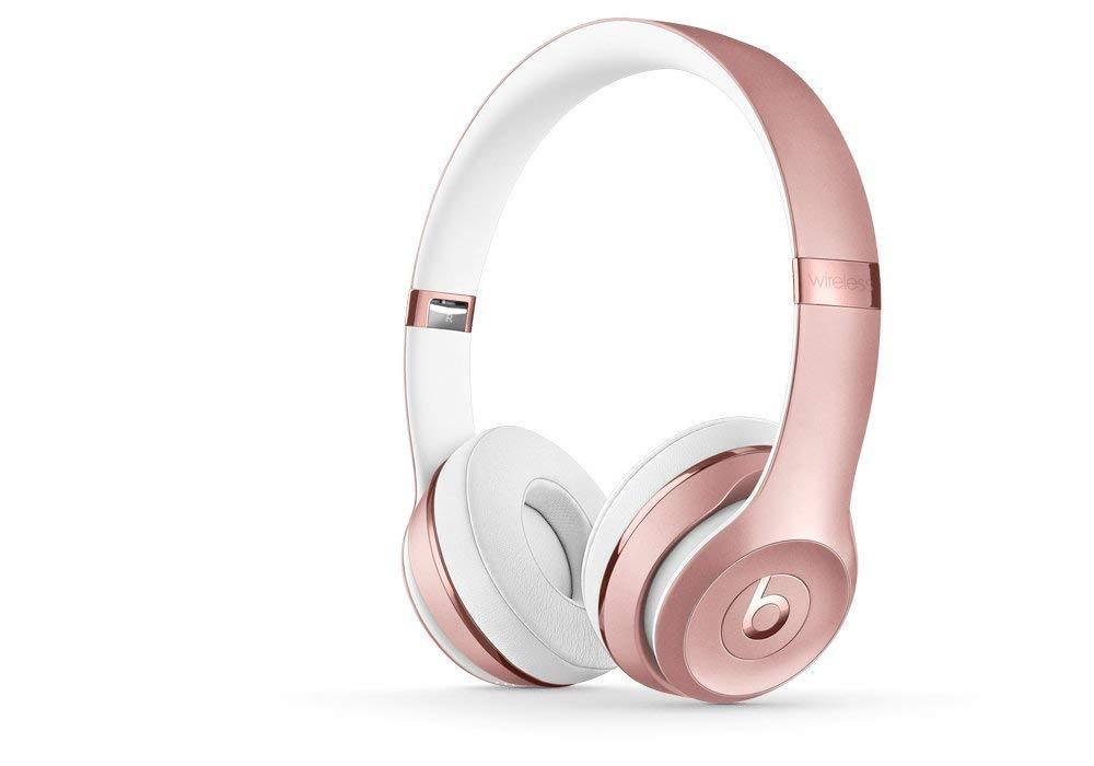 Daily Steals-Beats by Dr. Dre Beats Solo3 Wireless Bluetooth On-Ear Headphones-Headphones-Rose Gold-